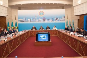 Round Table on Low Carbon Development Strategy of Astana city – 12.01.2018