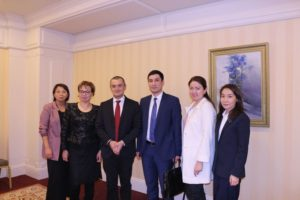 PRESENTATION  OF  THE  FIRST  NATIONAL  GREEN  GROWTH  REPORT  OF  THE  REPUBLIC  OF  KAZAKHSTAN